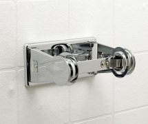 SINGLE TOILET ROLL HOLDER CHROME RT-22