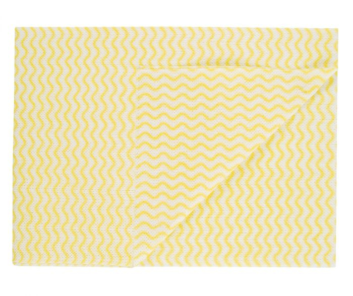 50X36CM OCEAN WIPE - NON ANTI BAC ABBEY YELLOW