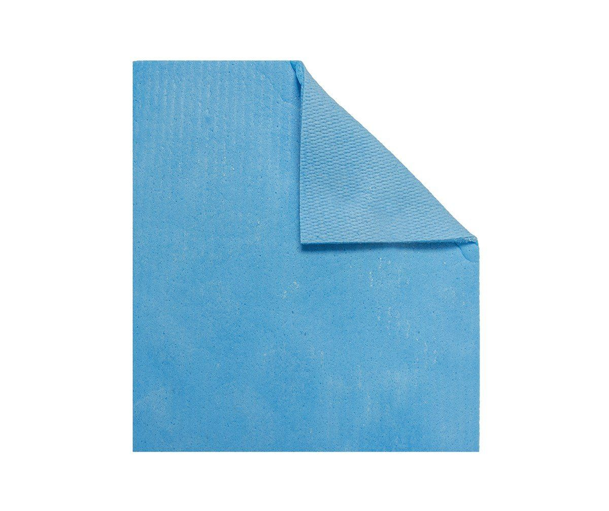 20X17.5CM SPONGE CLOTH PLAIN BAG BLUE