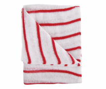 RED COLOUR CODED DISH CLOTHS PER (EA)