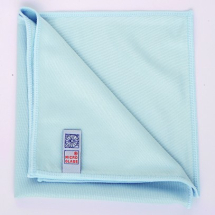 MICROGLASS CLEANING CLOTH BLUE 16 X 16inch