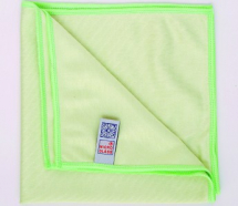 MICROGLASS CLEANING CLOTH GREEN 16 X 16inch