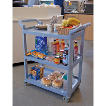 GREY CATERING TROLLEY