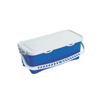 10 LITRE TOP DOWN BUCKET & LID BLUE