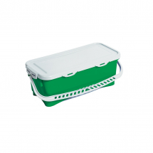 10 LITRE TOP DOWN BUCKET & LID GREEN