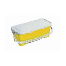 10 LITRE TOP DOWN BUCKET & LID YELLOW