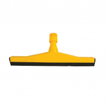 45CM HD PLASTIC FLOOR SQUEEGEE YELLOW