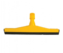 65CM HD PLASTIC FLOOR SQUEEGEE YELLOW