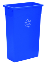 90 LITRE BLUE RECYCLE BIN BASE ONLY