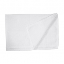 20inch X 30inch WHITE HONEYCOMB WAITERS CLOTH PER 10
