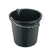 BUILDER'S BUCKET - BLACK