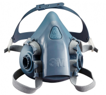 3M 7502 MED SILICONE HALF MASK