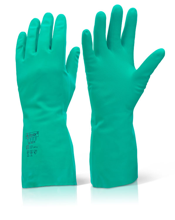 NITRILE GREEN GLOVE