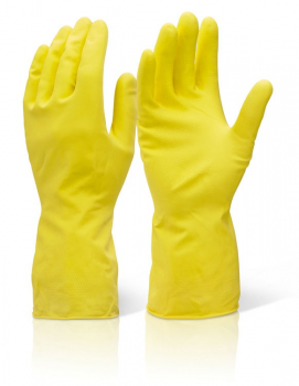 HOUSEHOLD MW GLOVES YELLOW