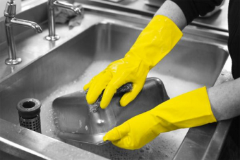 HOUSEHOLD GLOVES YELLOW