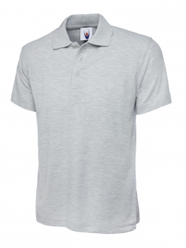 UNEEK 101 HEATHER GREY CLASSIC POLO SHIRT
