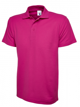 UNEEK 101 HOT PINK CLASSIC POLO SHIRT