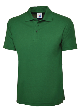 UNEEK 101 KELLY GREEN CLASSIC POLO SHIRT