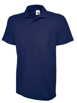 UNEEK 105 FRENCH NAVY ACTIVE POLO SHIRT