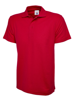 UNEEK 105 RED ACTIVE POLO SHIRT