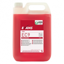 EC9 PERFUMED WASHROOM CLEANER & DESCALER 5LTR RED ZONE