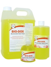 BIO-DOX BACTERICIDAL HAND SOAP 300ML FLIP TOP SQUEEZIE BOTTLE