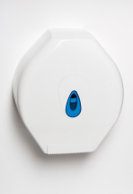 PLASTIC JUMBO TOILET ROLL DISPENSER