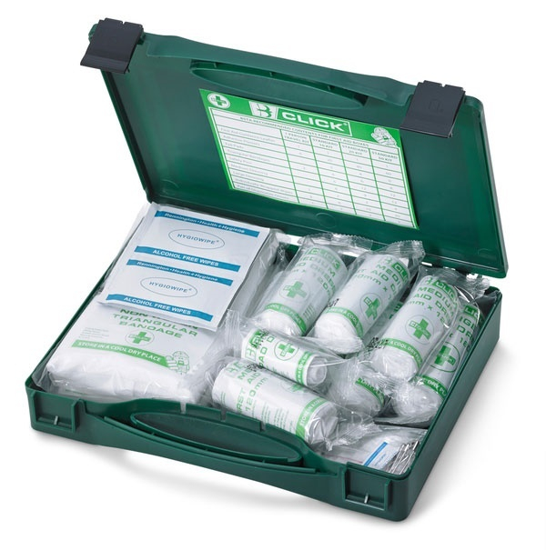 CLICK MEDICAL 10 PERSON FIRST AID KIT