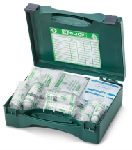 1-10 HSA IRISH FIRST AID KIT C/W EYEWASH AND BURN DRESSINGS