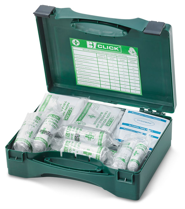 1-10 HSA IRISH FIRST AID KIT WITH BURN DRESSINGS
