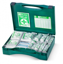11-25 HSA IRISH FIRST AID KIT C/W EYEWASH AND BURN DRESSINGS