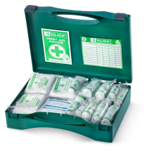 26-50 HSA IRISH FIRST AID KIT C/W EYEWASH AND BURN DRESSINGS