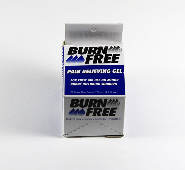 BURN GEL SACHETS 20 PER BOX