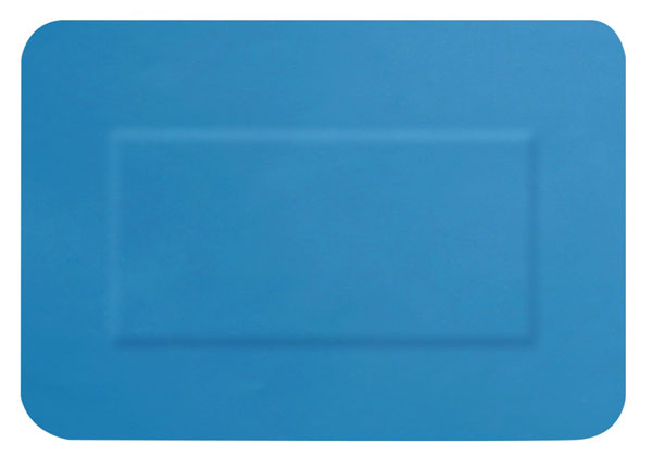 HYGIO PLAST BLUE DETECTABLE PLASTERS 20 ASSORTED