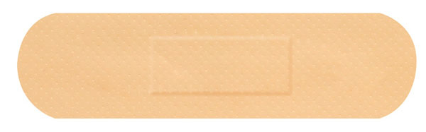 HYGIO PLAST WATERPROOF PLASTERS 100 MEDIUM STRIP