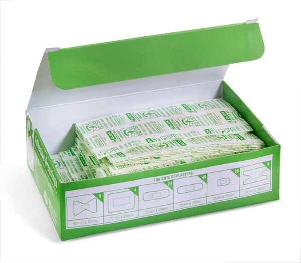 CLICK MEDICAL WATERPROOF PLASTERS 100 ASSORTED