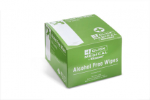 CLICK MEDICAL ALCOHOL FREE WIPES PK 100
