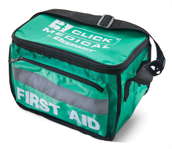 CLICK MEDICAL HEAVY DUTY FIRST AID BAG