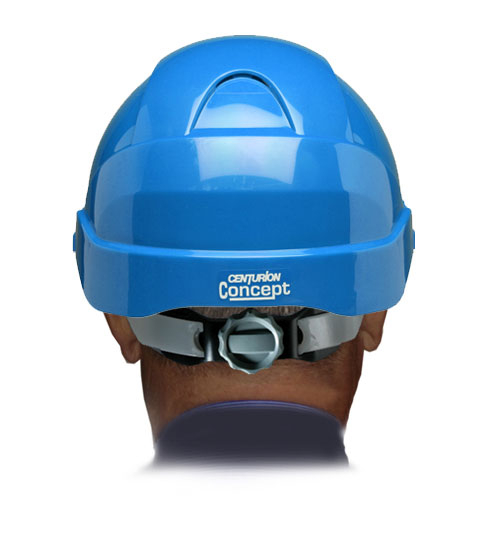 CONCEPT ROOFER R/PEAK SAFETY HELMET L BLUE (SO8CLBRJ)