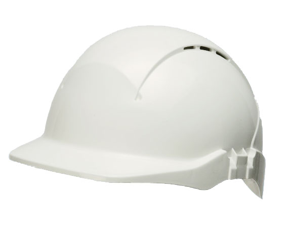 CONCEPT R/PEAK VENTED SAFETY HELMET WHITE