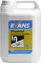 DISPERSE DISSOLVES FAT & GREASE 5 LTR