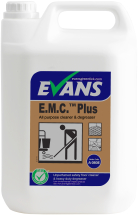 E.M.C PLUS SAFETY FLOOR CLEANER & DEGREASER 5LTR