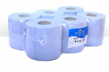 BLUE 2 PLY CENTREFEED ROLLS 150M X 175MM 417 SHEETS