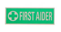 FIRST AIDER REFLECTIVE FRONT