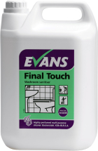 FINAL TOUCH BACTERICIDAL CLEANER HIGHLY PERF. 5LTR