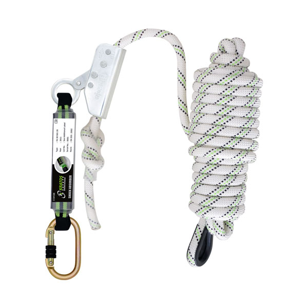 FALL ARRESTER ON KERNMANTLE ROPE 10 MTR
