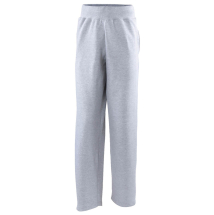 AWDIS CAMPUS OPEN HEM SWEAT PANTS HEATHER GREY L