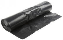 EXTRA STRONG BLACK REFUSE SACK 18X29X39 20KG (8 ROLLS OF 25)