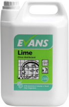 LIME CITRUS DISINFECTANT 5 LTR(WAS KEYLIME)