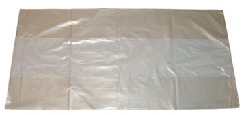 SUPER CLEAR REFUSE SACK 18X29X39 160G